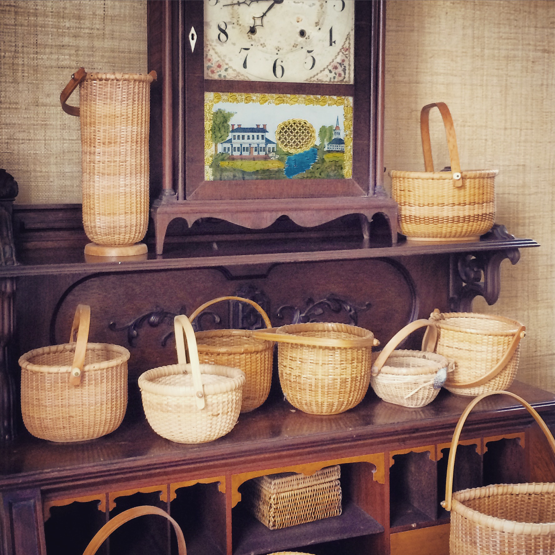 light shop baskets